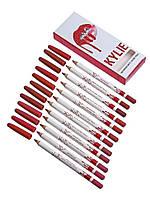Карандаши для губ Kylie Matte Lipliner Pencil - 12 шт. (реплика)