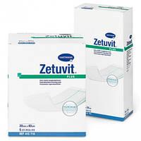 Атравматическая суперабсорбирующая повязка Zetuvit plus (Цетувит плюс) 20*25