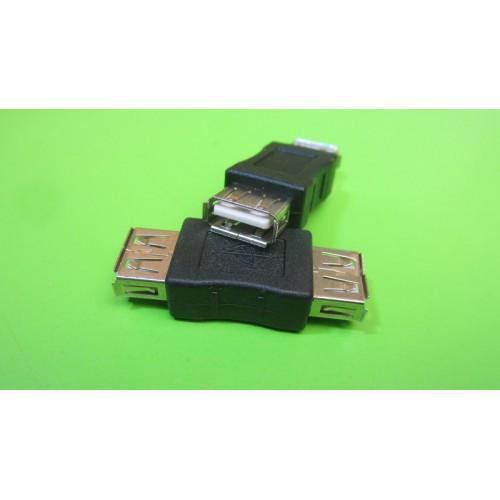 Адаптер переходник удлинитель USB мама-мама