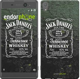 "Чехол на Sony Xperia XA Whiskey Jack Daniels ""822c-399-571"""