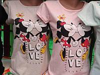 "Женские футболки ""Love Mickey"""