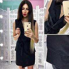Летнее платье - пиджак на запах тв-180433-1