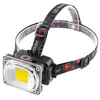 Налобный фонарь Police LL-6651-COB, 12V