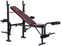Набор Strong 83 кг со скамьей HS-1055 , фото 1