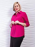 Блуза рубашка  модная женская  (50-54), доставка по Украине