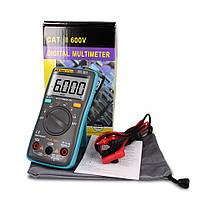 ZOTEK ZT101 Защищённый Мультиметр цифровой тестер True RMS