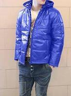 Модная мужская куртка Powell Anthony Blue (M, L, XL. 100% полиэстер Весна\Осень)