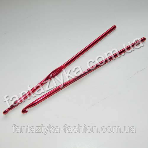 Металлический крючок для вязания 4мм