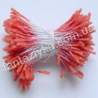 Сахарные тычинки-палочка, цвет кармин, 40 штук