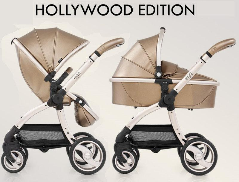 Коляска 2 в 1 BabyStyle Egg Special Edition Hollywood
