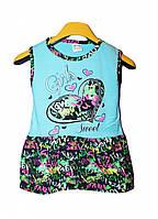 Детское легкое летнее платье для девочки 1,2 года