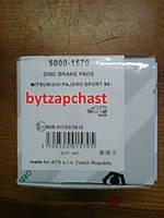 Тормозные колодки  Profit 5000-1570: MITSUBISHI  PAJERO SPORT (K90)
