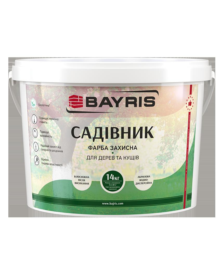 Садівник 14кг - захисна фарба для дерев та кущів