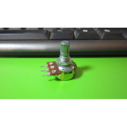 Переменный резистор потенциометр 0.5Вт 2кОм B2K