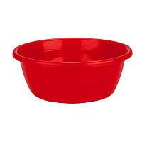 Миска R-Plastic цветная 7л красная