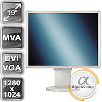 "Монитор 19"" Nec LCD1970NXp (TFT MVA/5:4/DVI/VGA) class A БУ"