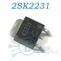 2SK2231, Mosfet транзистор N-канал, 60В 5А, TO252