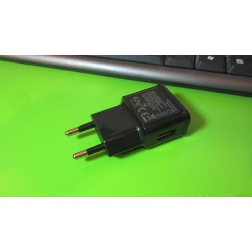 Зарядное устройство для телефонов USB DC 5V 0.5A черное