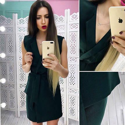 Летнее платье - пиджак на запах тв-180433-3, фото 2