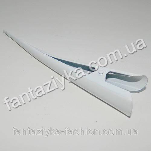 Заколка для волос Стрела большая 12,5см белая