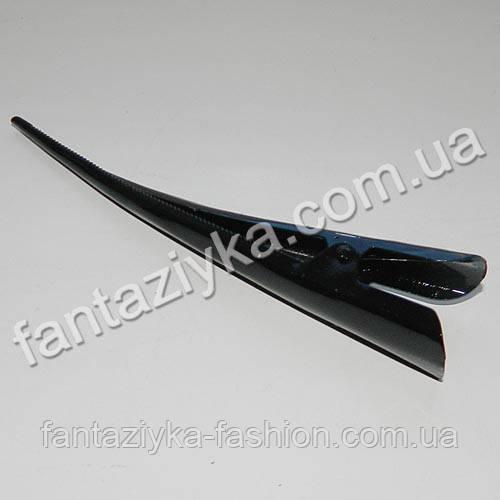 Заколка для волос Стрела большая 12,5см черная