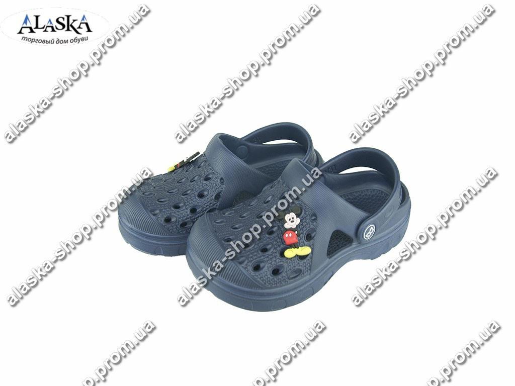 Детские кроксы ( Код: Даго М-327 т.синий )