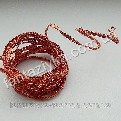 Декоративный шнур на проволочной основе, длина 2 метра