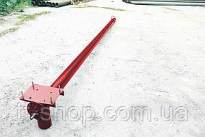 Шнек в сборе в трубе без двигатель Ø 133 мм, 2 м.