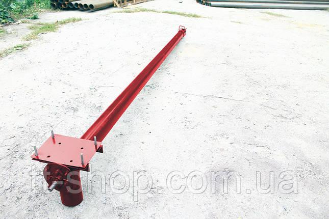 Шнек в сборе в трубе без двигатель Ø 108 мм, 6 м., фото 2