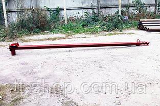 Шнек в сборе в трубе без двигатель Ø 159 мм, 7 м., фото 2