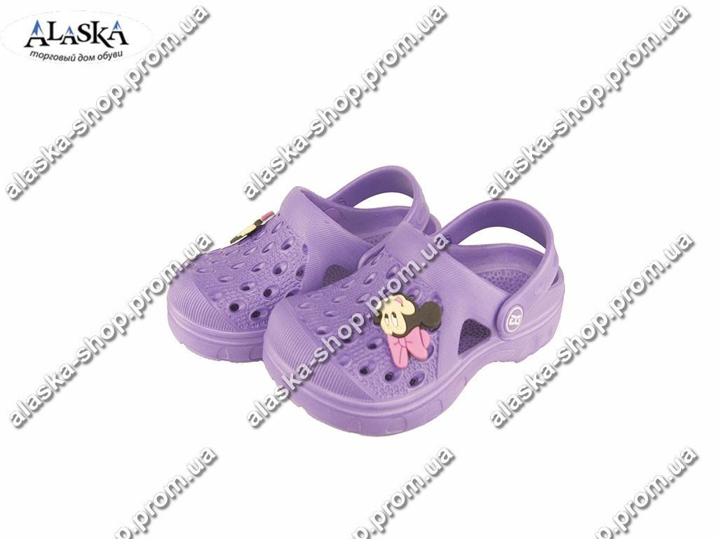 Детские кроксы ( Код: Даго М-327 фиолет )