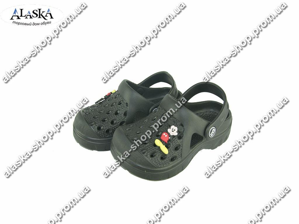 Детские кроксы ( Код: Даго М-327 черный )