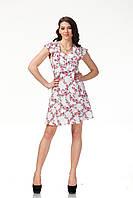 Цветочное летнее женское платье . П113, фото 1