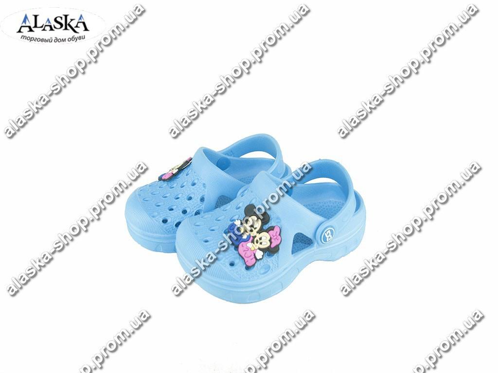 Детские кроксы ( Код: Даго М-327 голубые )