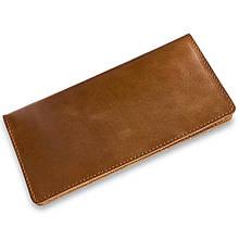 """Бумажник мужской кожаный универсальный """"Crystal Amber"""". Цвет янтарный"""