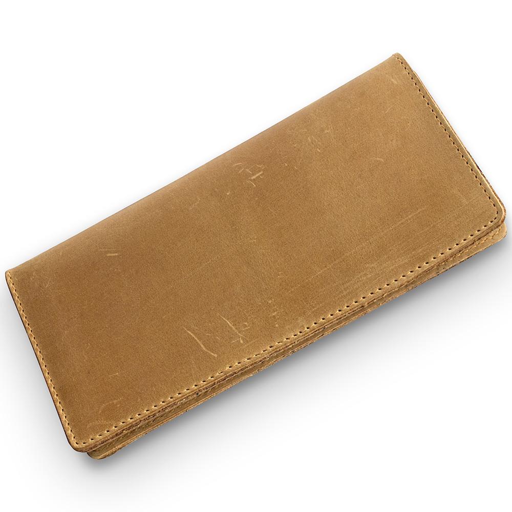 Рыжий Кожаный Бумажник Shabby Dingo