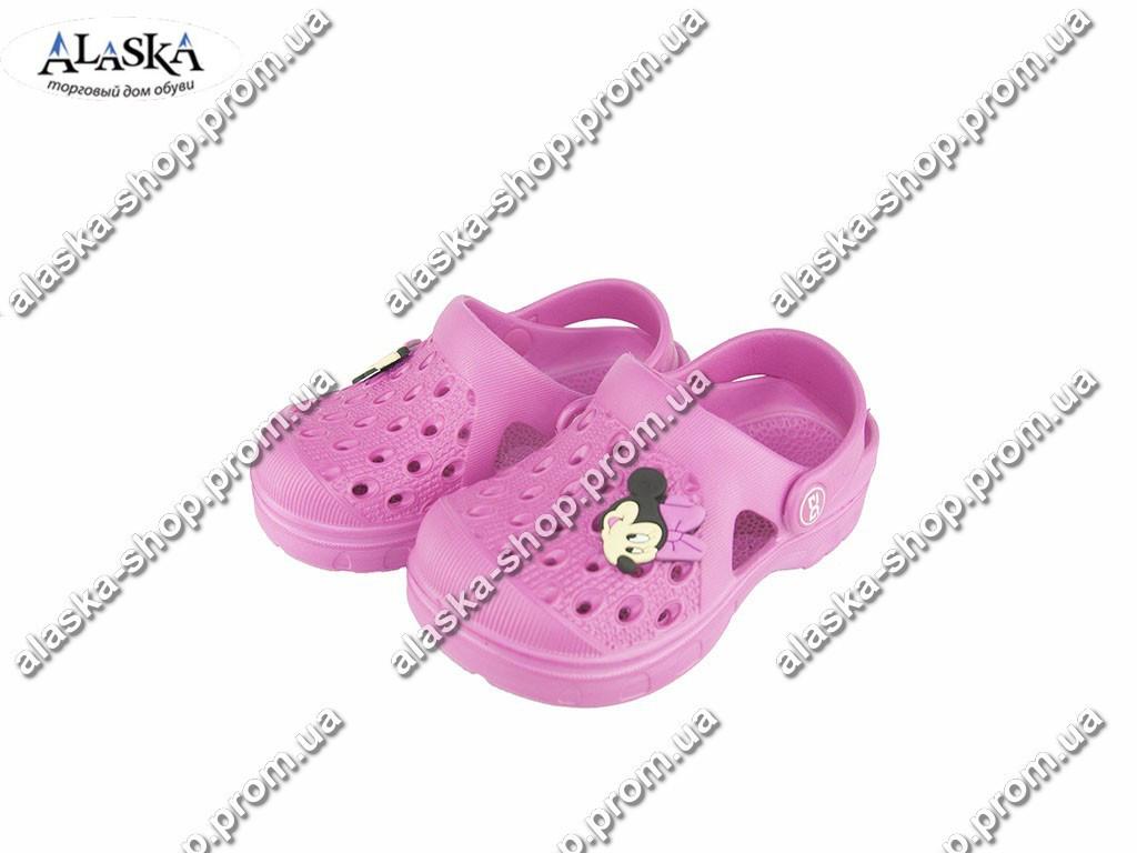 Детские кроксы ( Код: Даго М-327 розовые )