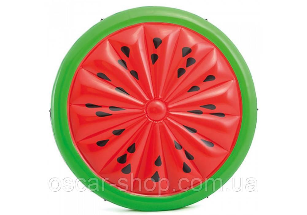 Надувний матрац Кавун / Надувна платформа для плавання Кавун / Надувний матрац Кавун / Надувний пліт для води