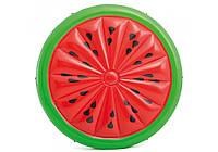 Надувний матрац Кавун / Надувна платформа для плавання Кавун / Надувний матрац Кавун / Надувний пліт для води, фото 1