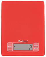 Кухонні ваги SATURN ST-KS7235_Red, фото 1