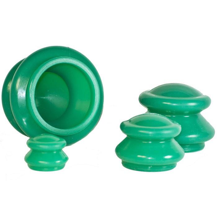 Банки для вакуумного массажа из силикона (4шт/уп) Праймед