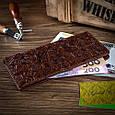 """Коньячный Кожаный Бумажник Crystal Сognac """"Let's Go Travel"""", фото 6"""