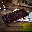 """Темно фиолетовый Кожаный Бумажник Crystal Sangria """"Let's Go Travel"""", фото 6"""