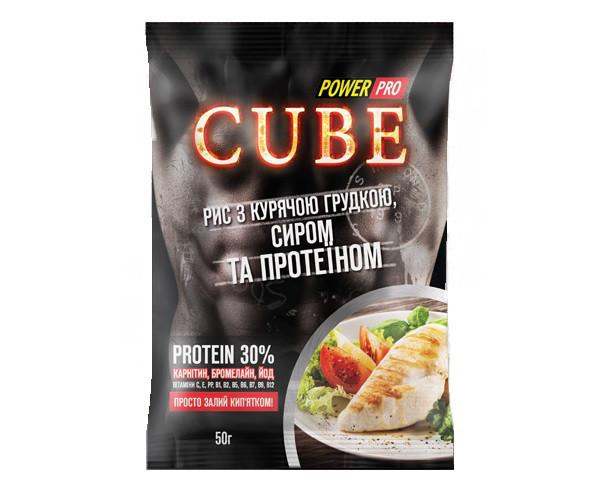 Рис Power Pro - Cube (50 гр) курица и сыр