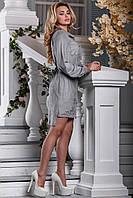 Стильные платья с вышивкой Eks0106