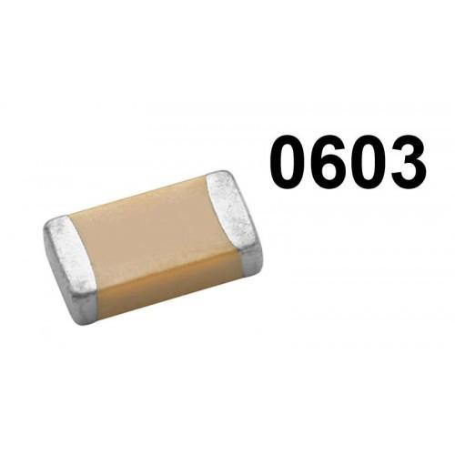 Конденсатор керамический SMD 0603 4.7nF 25шт