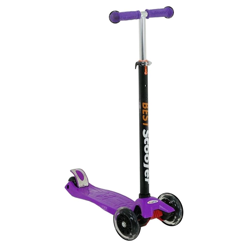 Самокат Best Scooter 466-113 Фиолетовый Maxi 48340/64112