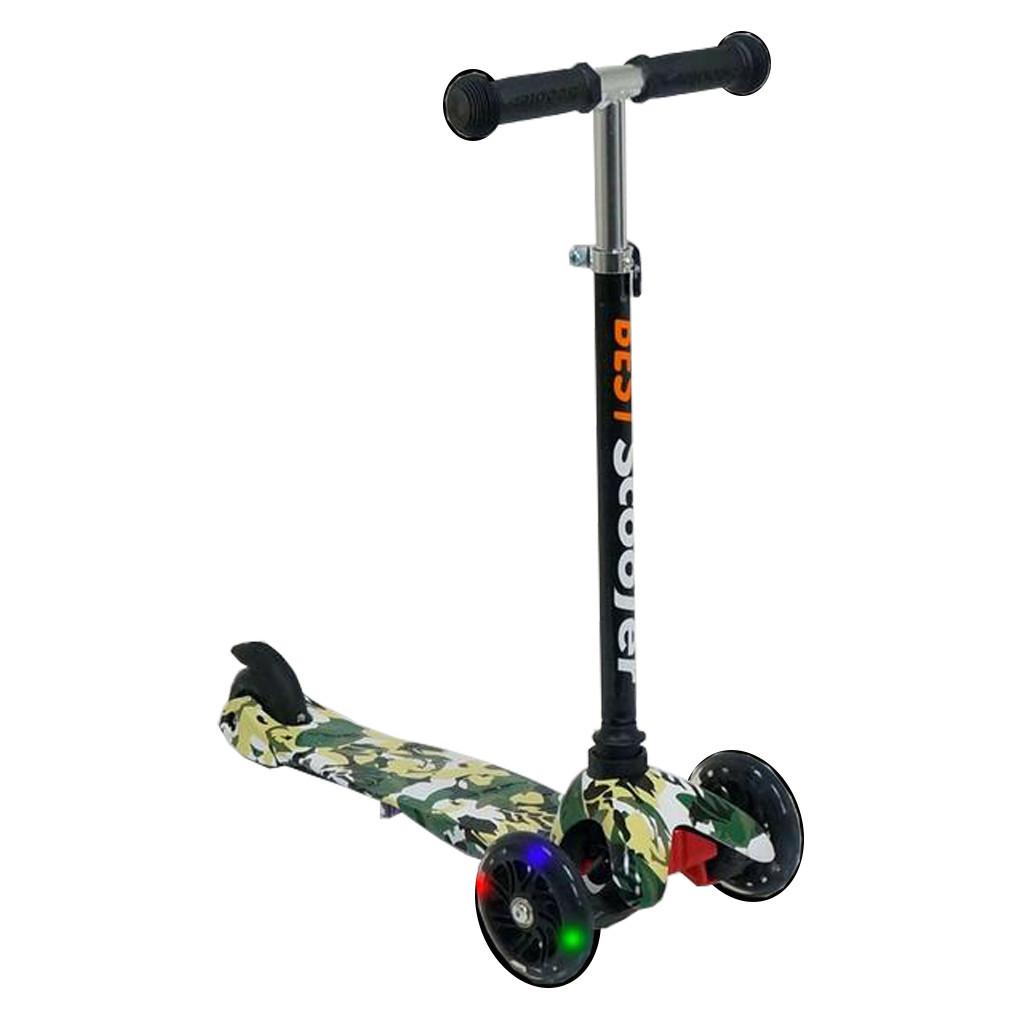 Самокат Best Scooter 1285 Черный Mini 54651T