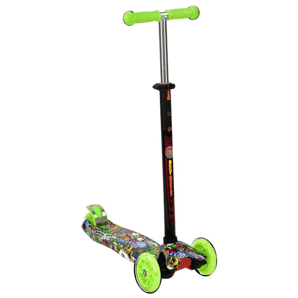 Самокат Best Scooter 1391 Салатовый Maxi 1391T
