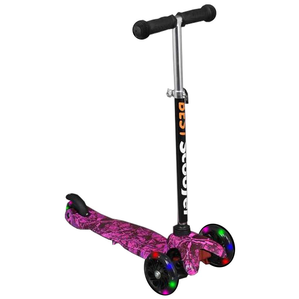 Самокат Best Scooter 1202 Фиолетовый Mini 59649